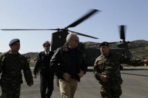 """Αβραμόπουλος από Καστελόριζο:""""Η κρίση δεν θ΄ αγγίξει την εθνική μας ακεραιότητα""""  ...."""