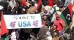 Libya thanks to usa
